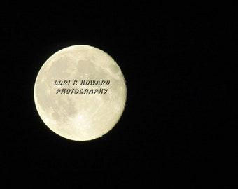 Halloween Full Moon Photograph
