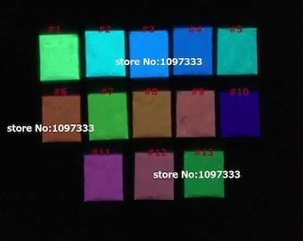 Luminous glow powder super bright fluorescent powder - 50 grams