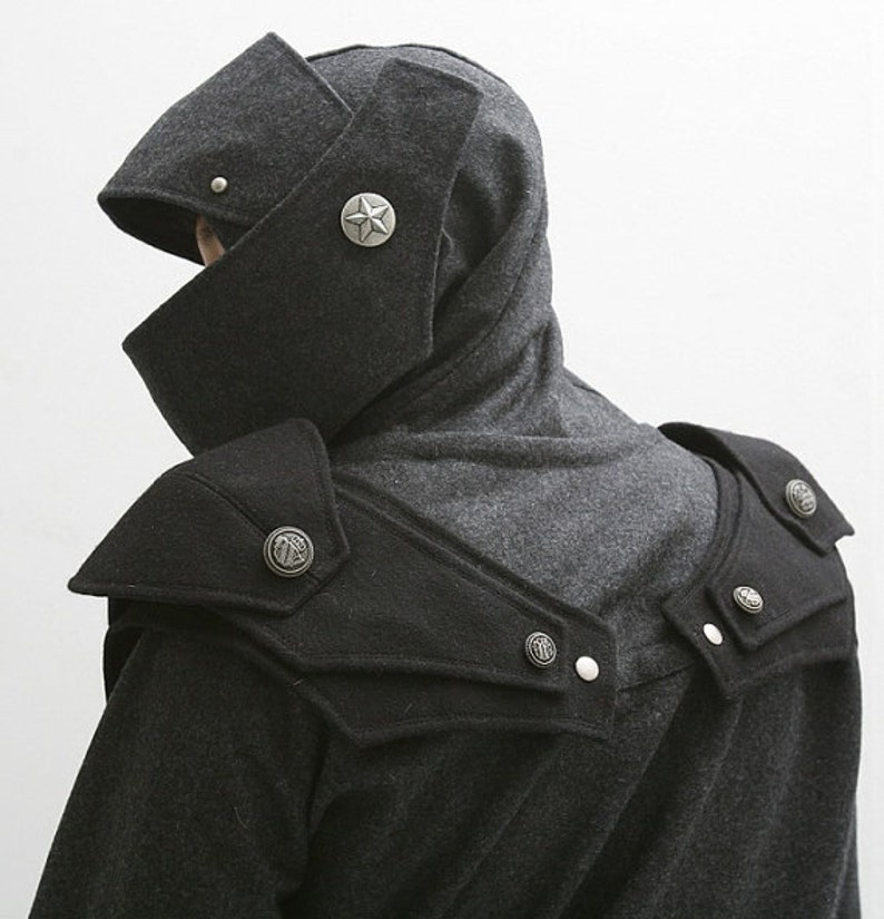 cf06ced28f Hoodie men gift for him cosplay knight medieval