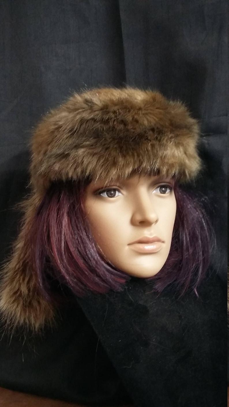 74437a3da1235 Daniel Boone hat trapper hat Davy Crockett hat