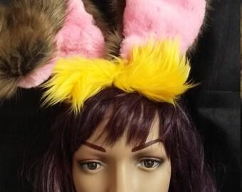 March Hare ears, Bunny ears, Rabbit ears, oversize rabbit ears
