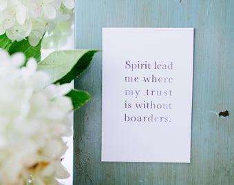 Spirit Lead Me Magnet