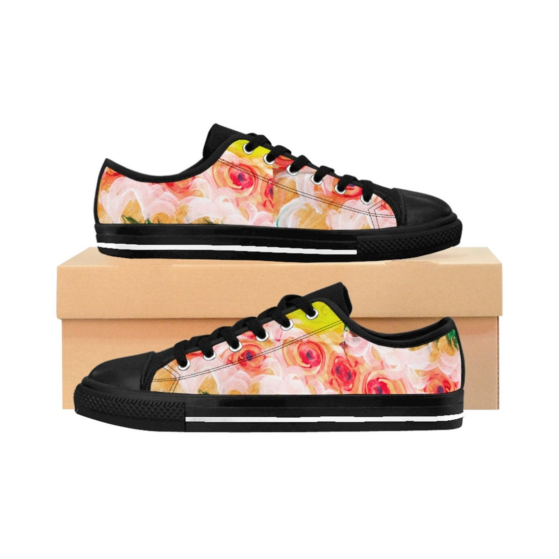 Flower Power Women's Sneakers
