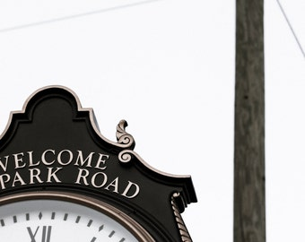 The Park Road Clock West Hartford