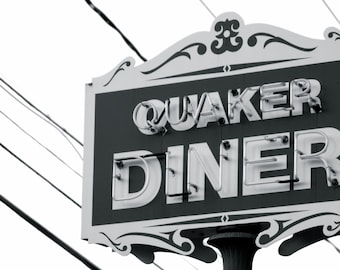 Quaker Diner West Hartford Photograph 2016