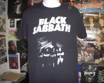 d22e5184 Black Sabbath T-Shirt (FREE SHIPPING in Usa Only) Ozzy Osbourne Doom Metal  Heavy Sweet Leaf Paranoid Vol 4 Master of Reality