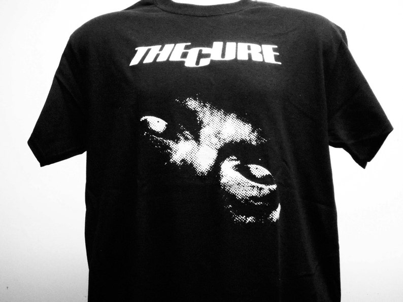 62721fa5da83 The Cure T-shirt FREE SHIPPING in the USA only Goth | Etsy
