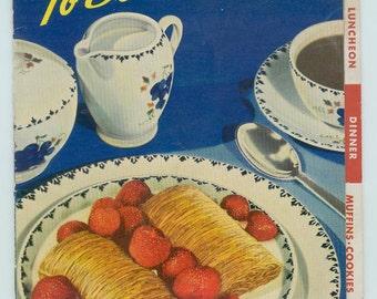 Vintage 1940 Whole Shredded Wheat Cereal National Biscuit Company Nabisco Cook Book Cookbooklet Vintage Advertising