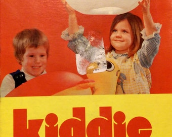 Kitschy Retro Inflatable Clown Kiddie Swag Lamp in box NOS 1970s Made In Japan Vintage Lighting