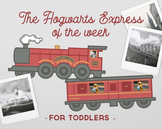 image about Hogwarts Express Printable known as Hogwarts Convey Customizable Little one 7 days Prepare, 7 days Timetable, Printable Plan, Boy or girl 7 days Organizer, Boy or girl Schedule, Practice of the 7 days