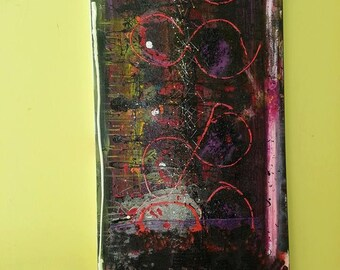Innocense Lost - Original Abstract Acryllic painting on canvas