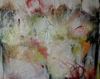All My Secrets  - Acryllic painting on canvas - Original Abstract