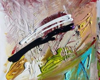 Splintered - Original Abstract Acryllic painting on canvas