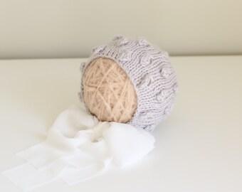 Newborn girl bonnet - Baby girl bonnet - Photo prop bonnet - Baby bonnet - Photo props - Newborn  - Baby girl - Baby props -Photography prop