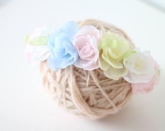 12 months flower -  Props headband - Hard headband - Baby girl hair - Baby girl - Props headband - Toddler headband- Big girl headband