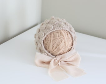 Sitter girl bonnet - Baby girl hat - Photo prop bonnet - Baby hat - Photo props - Sitter hat - Baby girl - Baby props - Photography prop