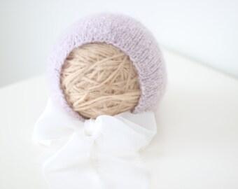 12-18 months girl - Sitter props - Sitter bonnet - Baby girl props - Photo props - Baby photo prop - Sitter baby photo - Lavender - Baby