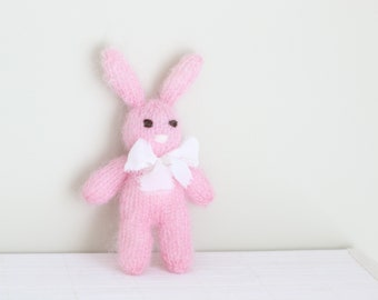 Newborn easter - Baby girl rabbit - Photo prop rabbit - Newborn rabbit - Newborn bunny toy - Newborn girl - Photo prop girl - Newborn girl