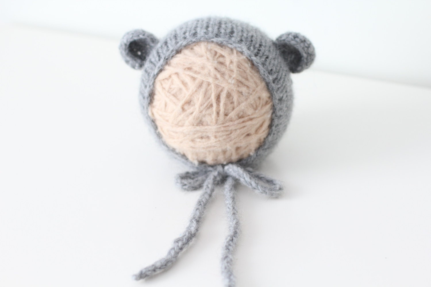 e5967377161 Newborn hat - Newborn bear – Baby props – Newborn boy – Photo ...
