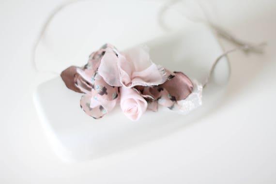 Nouveau-né fleur - bandeau accessoires - bandeau bébé fille bandeau - cheveux de nouveau-né - naissance bébé fille - bandeau accessoires - nouveau-né bandeau-fleur