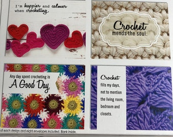 ChiaoGoo Crotes | blank cards for crocheters | fiber arts gifts