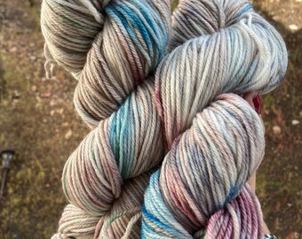 WAFA September |DK weight, variegated yarn for knitting, crochet, and weaving in neutral colors