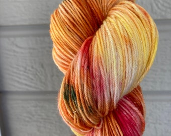 Summer Fire Variegated Merino/Nylon Sock Yarn