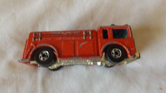 Hot Wheels Fire Eater 1976 feu Mattel camion CL28-14