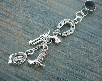 Cowboy Keychain Cowboy Hat Boot Horseshoe 111Q Its All About...You
