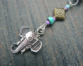 Ganesha belly ring elephant belly ring in zen yoga Indie Moroccan boho hipster new age gypsy hippie belly dancer beach and hipster style