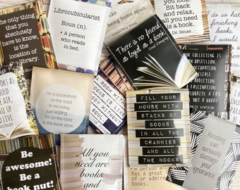 """Book Lover Gift: """"Tea Gift for Book Worms"""" - A Handcrafted Tea Gift for Book Lovers - Bookish Gifts - Literature Gift - Gift for Readers"""