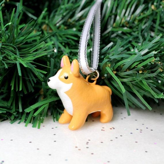 Polymer Clay Christmas Tree.Custom Pet Ornament Personalized Polymer Clay Christmas Tree Ornament
