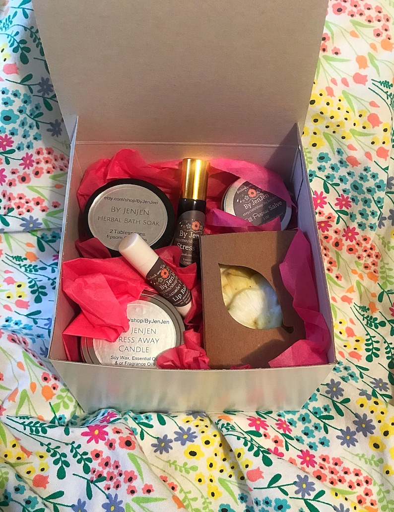 Mothers Day Gift Get Well Gift Care Package Spa Gift Set Etsy