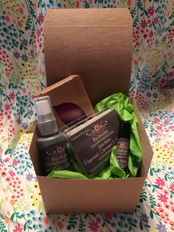FREE Ship Bath Gift Set Birthday Care Package Small