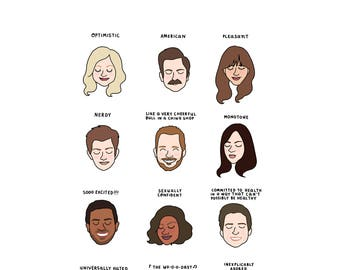 Parks and Rec Moods - Digital Download