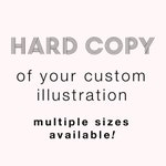 DO NOT PURCHASE unless you already bought a separate custom illustration!