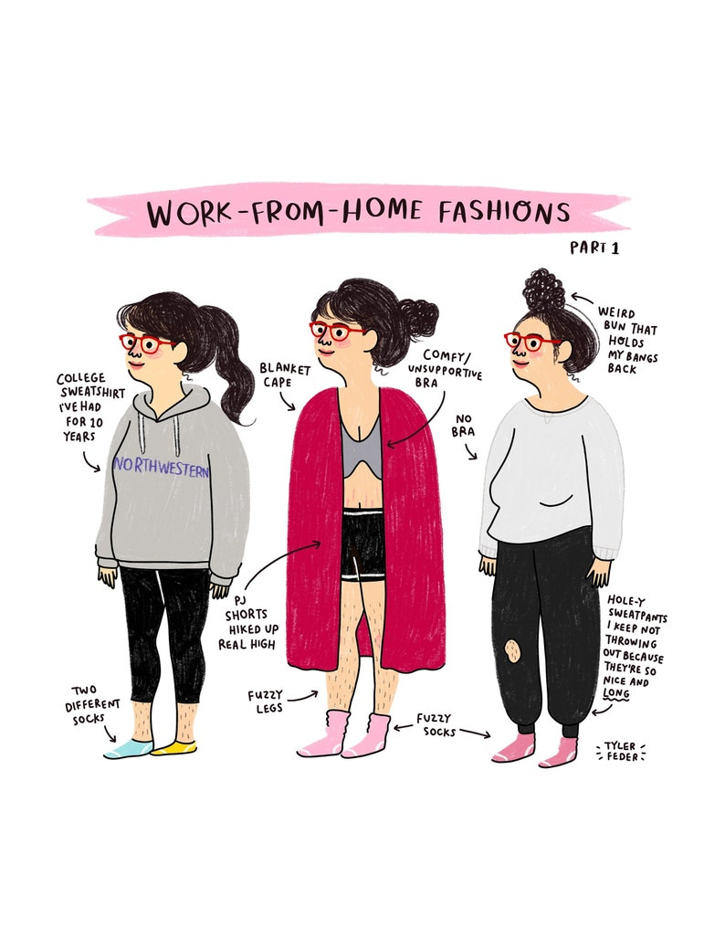 Work From Home Fashions Part 1  Digital Download image 0