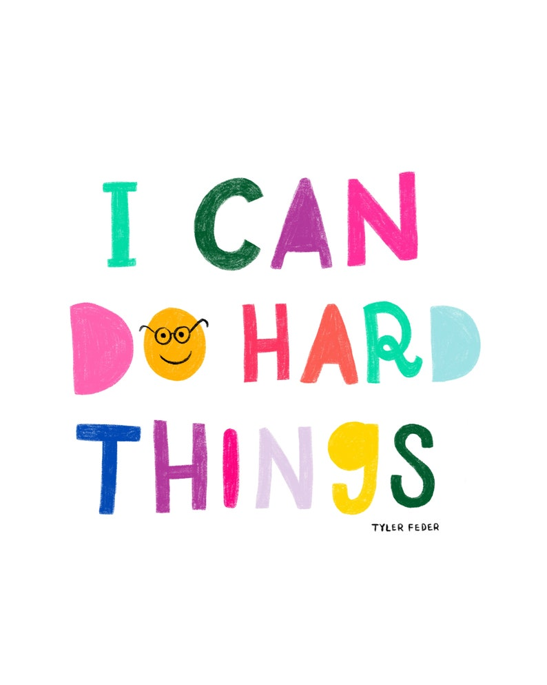 I Can Do Hard Things  Digital Download image 0