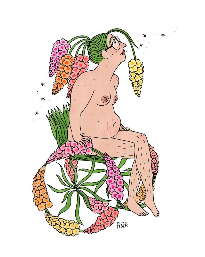 Gladiolus  Digital Download image 0