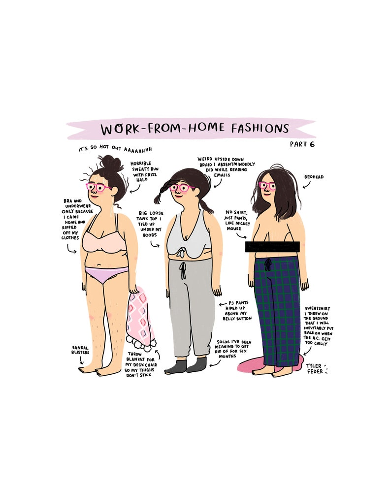 Work From Home Fashions Part 6  Digital Download image 0