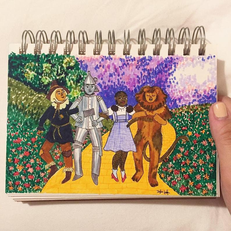 The Wizard of Oz  Original Illustration image 0