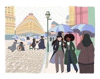 Paris Street; Rainy Day - Digital Download