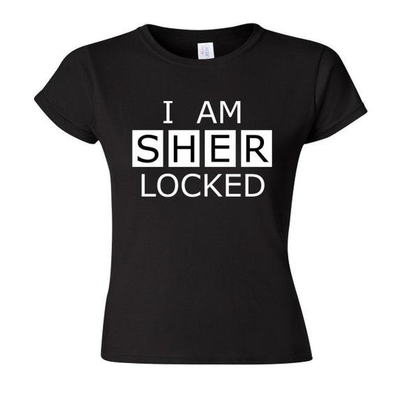 I Am Sherlocked T Shirt Bbc Sherlock Cosplay Clothing Fandom Tee T Shirt Prop Replica Apparel Nerd Geek Costume Convention Outfit