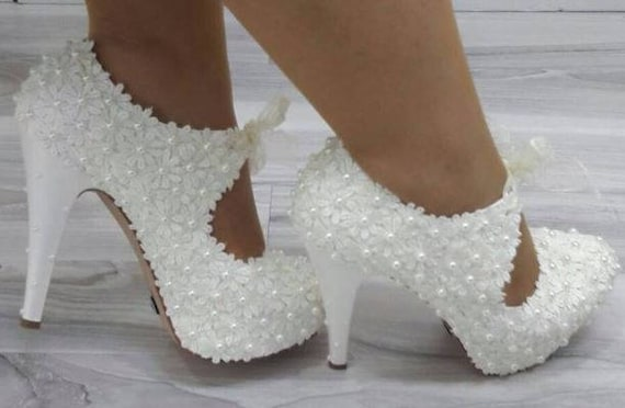 Wedding Shoes Bridal Shoes Bride Shoes Bridesmaid Shoes Etsy