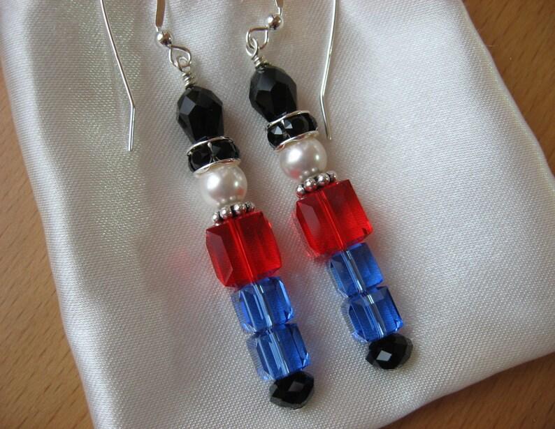 2a6254610 Nutcracker Earrings Toy Soldier Earrings Nutcracker Jewelry | Etsy