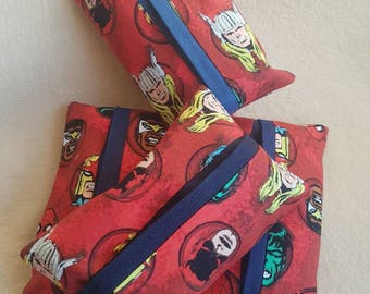 Marvel inspired travel tissue holder