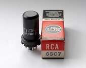 RCA 6SC7 vacuum tube - mint - new old stock - 1959 date code