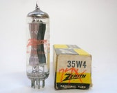 Zenith 35W4 vacuum tube for All American 5 tube table radios