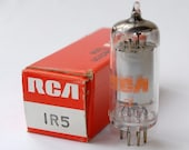 Set of 5 RCA 1R5 vacuum tube - new old stock - mint condition - original box