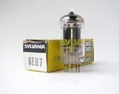 Sylvania 6EU7 vacuum tube - new old stock - original box - excellent condition